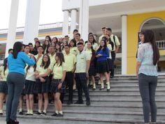 Estudiantes del Instituto Cerro de Plata, durante su recorrido en Campus Tegucigalpa. Martes 27 de septiembre del 2016 #UTH #Honduras