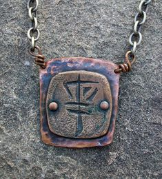 Frisbee Disc Golf Basket necklace by stacilouise, via Flickr