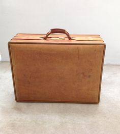 Vintage Hartmann 2 Suiter Hardside Suitcase by socallrare on Etsy