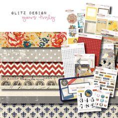 Glitz Design - Yours Truly - cha summer 2012