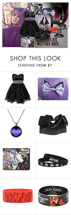 """""""Untitled #342"""" by yousavedmexoxo ❤ liked on Polyvore featuring Converse and Disney"""