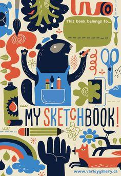 Tracy Walker Illustration - JOURNAL - A Sketchbook for theVarley