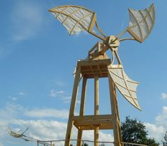 Kinetic Wind Sculpture | Mulino di Vento wind-powered kinetic sculpture portrays the power of ...