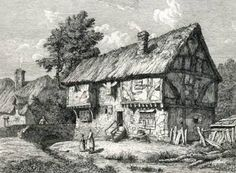 The Half Moon pub, Kempston, 1700.
