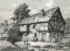 The Half Moon pub, Kempston, 1700.