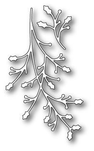 Memory Box JOLLY HOLLY BRANCHES Craft Die 99317