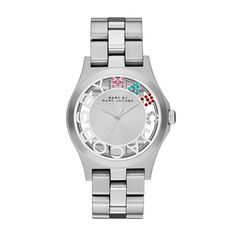 Marc Jacobs Women's Watch MBM3262 Henry Skeleton silver tone   *Timelessbrands* #MarcbyMarcJacobs #Fashion