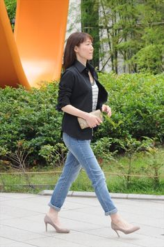 ozie オジエ レディース・ニットシャツ・ポロシャツ・ビズポロ UPF50+/UVカット加工の優秀ニット黒シャツ 6046-E05-2 #ladiesshirt #ladiesfashion #womanswear #fashionforwomen