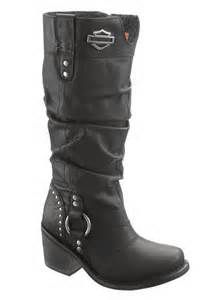 """Just Luv'd on @Luvocracy   The Harley Davidson Jana boots allow you to channel your inner """"Sons of Anarchy"""" - style old lady! LOVE!"""
