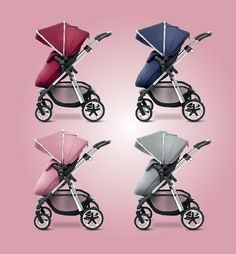 Vintage Red, Vintage Blue, Vintage Pink and Silver are beautiful new additions for the Silver Cross Pioneer and Wayfarer pram systems. Reflecting the latest trends, they give your pram a fashionable edge - and they're available now!