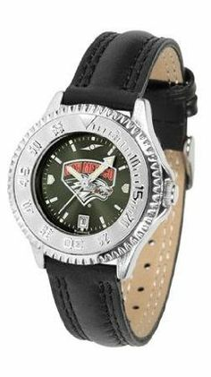New Mexico Lobos UNM NCAA Womens Leather Wrist Watch by SunTime. $79.95. Showcase the hottest design in watches today! A functional rotating bezel is color-coordinated to compliment your favorite team logo. A durable long-lasting combination nylon/leather strap together with a date calendar round out this best-selling timepiece.. Save 21%!