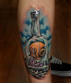 Tattoos by Benjamin Laukis #sicktat