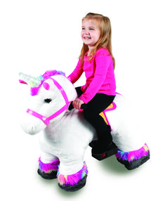 6 Volt Stable Buddies Willow Unicorn Plush Ride-On by Dynacraft with Light Up Horn and Play Stable Included! Hidden Book, Little Unicorn, Coeur D'alene, Ride On Toys, Imaginative Play, Daughter Love, Toys For Girls, Stables, Light Up