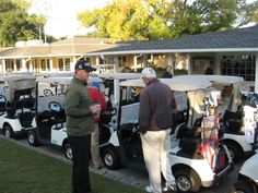 One minute 'till the start of Black Friday charity golf tournament, and Foundation Services' Keith Seyler is making sure all is in readiness. Black Friday Golf, Tough Day, Down Syndrome, Central Florida, Golf Carts, Charity, Baby Strollers, Foundation, Baby Prams