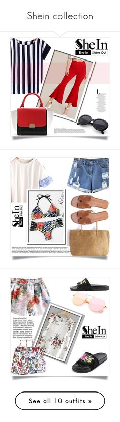 """""""Shein collection"""" by aida-banjic ❤ liked on Polyvore featuring shein, WithChic and Gucci"""