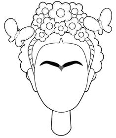 Frida Kahlo in the Elementary Spanish Classroom - Best Art Projects 🎨 Embroidery Art, Embroidery Patterns, Arte Elemental, Cute Art Projects, Kahlo Paintings, Art Mignon, Frida Art, Elementary Art, Elementary Spanish