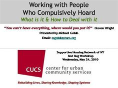 Working with People Who Hoard by GregWalzChojnacki via authorSTREAM
