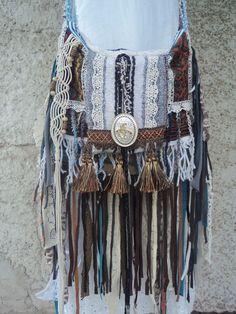 Handmade Western Fringe Bag Hippie Tribal Boho Cross Body Serape Purse tmyers #Handmade #MessengerCrossBody