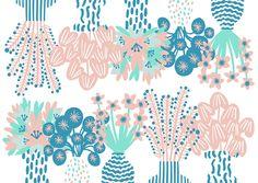 Orie Kawamura【Flower arrangement3】#illust #testile #design #花 #botanical #flower #イラスト #北欧デザイン #北欧イラスト #テキスタイル Textile Design, Scenery, Textiles, Illustration, Animals, Home Decor, Animales, Decoration Home, Landscape