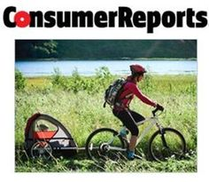 Here's a link to a Consumer Reports article on bike trailers.