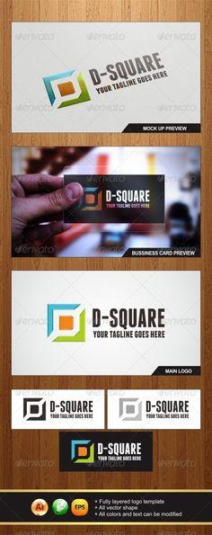 D-Square Logo (Letters)
