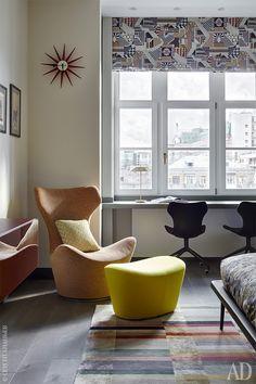 Ариана Ахмад оформила квартиру в Москве: фото интерьеров | AD Magazine