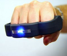 Stun Gun Knuckles...for those times when you need to randomly fight :-)
