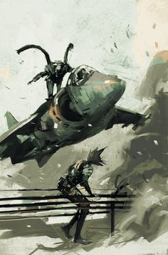 Artwork2 de Metal Gear Solid Digital Graphic Novel 2