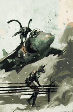 Artwork2 de Metal Gear Solid Digital Graphic Novel 2