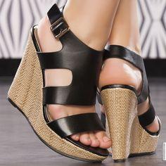 Shoes woman black elasthomère heels 12 cm size 38, on line shop Modatoi. buy shoes on website modatoi.co.uk.