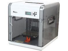 """XYZprinting da Vinci 1.0 FFF (Fused Filament Fabrication) 0.1mm-0.4mm 150 mm/s Single Jet 3D Printer 7.8"""" X 7.8"""" X 7.8"""" Build ..."""