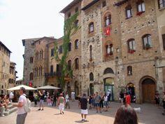 Piazza, San Gimignano