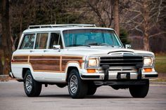 Golf Discover 1988 Jeep Grand Wagoneer Bid for the chance to own a 1988 Jeep Grand Wagoneer at auction with Bring a Trailer the home of the best vintage and classic cars online. Quad, Volkswagen Golf Mk1, Woody Wagon, Jeep Wagoneer, Jeep Truck, Car Travel, Jeep Grand Cherokee, Classic Cars Online, Dreams