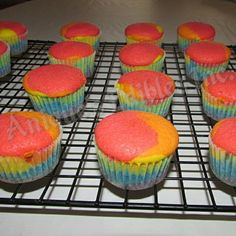 Rainbow cupcakes for a birthday party pre-icing. #pineapple #flavour  Website: www.aniquesediblesinc.com  Contact email: aniquesedibles@gmail..com  #aniquesedibles #bakedgoods #delicious #Toronto#food #foodie #bakerlife #entrepreneur #instacupcakes #instacakes #aniquesediblesinc #cakes #Canada #Canadian #instacakepops #rainbow #colours #bright #delicious #treats #alloccasions #website #ordernow (at Anique's Edibles)