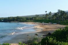 Maluaka Beach, Wailea - Good snorkeling, soft sandy beach with shade. I really liked this beach!