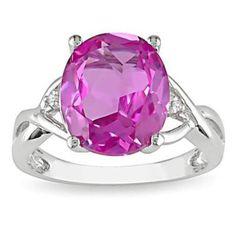 #jewelry #Fashionnews #Womensfashion #Womensstyle #Fashion #Unitedstate #USA 7 Carat Pink Sapphire Diamond Fashion Ring