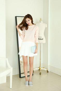 Pastel Knit Crop Top