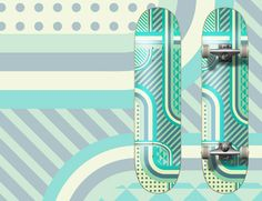 How To Create a Patterned Vector Skateboard Design