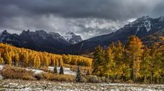 Fall And Winter  As always, +Steven Reed  primary characteristic of his prints is his intense, close physical contact with the actual fabric of nature.   #coloradofall #silverjack #travelpics via @anewdawnphoto