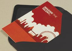 The final stage was a mini brochure focusing on skills and talent in the capital as this was one of the major selling points of setting up a company in London.