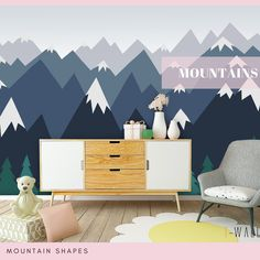 110 Trendy wall MURAL IDEAS FOR KIDS ROOM