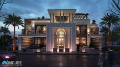 House Front Design, Modern House Design, Islamic Architecture, Architecture Design, Mansion Plans, Modern Family House, Rooftop Design, Mall Design, Home Design Decor