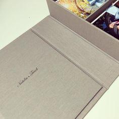 Beautiful handmade wedding album #handmade #presentationbox #fineartphotography #weddingfineartphotography #weddingday #beautiful #moments #love #couple #beautifulday #happy #special #gift #instawedding #linen #box