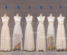 long bridesmaid dresses, chiffon bridesmaid dress, champagne bridesmaid dress, cheap bridesmaid dress, RE310