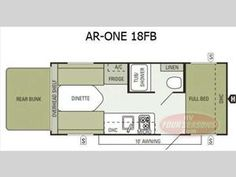 Floorplan - 2014 Starcraft  AR-ONE 18FB