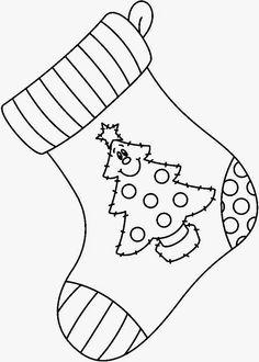 Tree on the Stocking Christmas Activities, Christmas Crafts For Kids, Xmas Crafts, Christmas Projects, Christmas Decorations, Christmas Ornaments, Christmas Drawing, Christmas Paintings, Christmas Rock