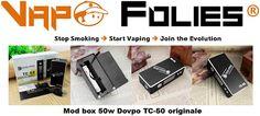 Mod box 50 watts #Dovpo Mini TC-50 – 34 € FDP inclus