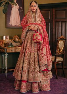 Indian Bridal Outfits, Indian Bridal Fashion, Pakistani Bridal Dresses, Indian Designer Outfits, Wedding Outfits, Bridal Anarkali Suits, Party Outfits, Swag Outfits, Bridal Lehenga