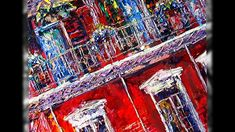 Collection of New Orleans oil paintings on canvas. Impressionism, Contemporary Impressionism, Oil Painting On Canvas, Canvas, Painting, Abstract Artwork, Art, Canvas Painting