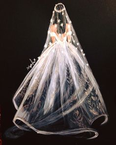 Beautiful – just paint and draw. – # beautiful Nice – Just paint and draw. Wedding Drawing, Wedding Dress Sketches, Wedding Art, Wedding Pillars, Wedding Illustration, Fashion Illustration Sketches, Fashion Sketches, Illustrations, Paper Flower Backdrop Wedding